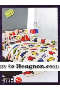 ชุดเครื่องนอน ผ้าห่มนวม ชุดผ้าปูที่นอนโตโต้  TT317