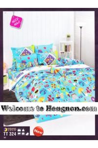 ชุดเครื่องนอน ผ้าห่มนวม ชุดผ้าปูที่นอนโตโต้  TT324