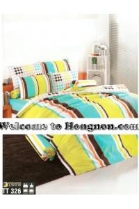 ชุดเครื่องนอน ผ้าห่มนวม ชุดผ้าปูที่นอนโตโต้  TT326