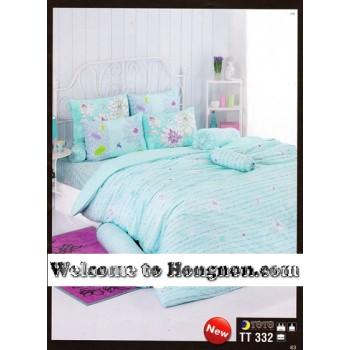 ชุดเครื่องนอน ผ้าห่มนวม ชุดผ้าปูที่นอนโตโต้  TT332