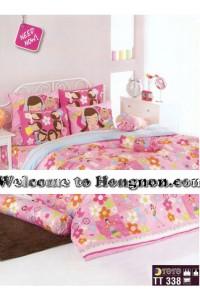 ชุดเครื่องนอน ผ้าห่มนวม ชุดผ้าปูที่นอนโตโต้  TT338