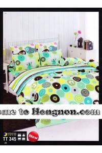 ชุดเครื่องนอน ผ้าห่มนวม ชุดผ้าปูที่นอนโตโต้  TT345