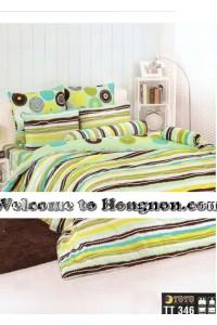 ชุดเครื่องนอน ผ้าห่มนวม ชุดผ้าปูที่นอนโตโต้  TT346