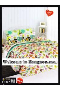 ชุดเครื่องนอน ผ้าห่มนวม ชุดผ้าปูที่นอนโตโต้  TT347