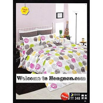ชุดเครื่องนอน ผ้าห่มนวม ชุดผ้าปูที่นอนโตโต้  TT348