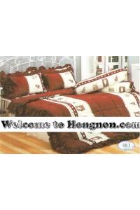 ชุดเครื่องนอน ผ้าห่มนวม ชุดผ้าปูที่นอนทิวลิป 481