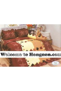 ชุดเครื่องนอน ผ้าห่มนวม ชุดผ้าปูที่นอนทิวลิป 542