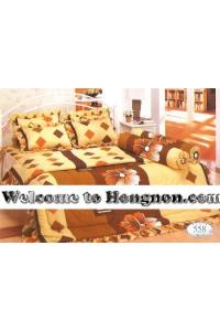 ชุดเครื่องนอน ผ้าห่มนวม ชุดผ้าปูที่นอนทิวลิป 558