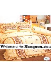 ชุดเครื่องนอน ผ้าห่มนวม ชุดผ้าปูที่นอนทิวลิป 583
