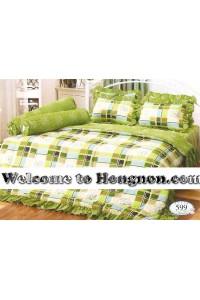 ชุดเครื่องนอน ผ้าห่มนวม ชุดผ้าปูที่นอนทิวลิป 599