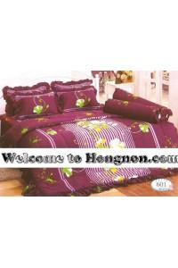 ชุดเครื่องนอน ผ้าห่มนวม ชุดผ้าปูที่นอนทิวลิป 601