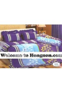 ชุดเครื่องนอน ผ้าห่มนวม ชุดผ้าปูที่นอนทิวลิป 606