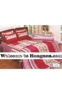 ชุดเครื่องนอน ผ้าห่มนวม ชุดผ้าปูที่นอนทิวลิป 620
