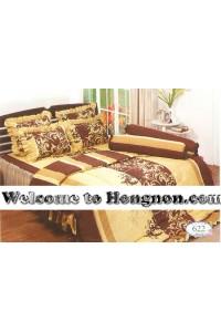 ชุดเครื่องนอน ผ้าห่มนวม ชุดผ้าปูที่นอนทิวลิป 622