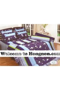 ชุดเครื่องนอน ผ้าห่มนวม ชุดผ้าปูที่นอนทิวลิป 623