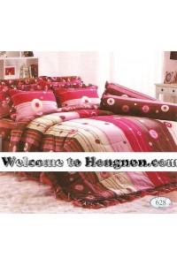ชุดเครื่องนอน ผ้าห่มนวม ชุดผ้าปูที่นอนทิวลิป 628