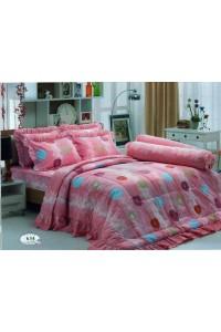 ชุดเครื่องนอน ผ้าห่มนวม ชุดผ้าปูที่นอนทิวลิป 634