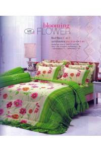 ชุดเครื่องนอน ผ้าห่มนวม ชุดผ้าปูที่นอนทิวลิป 639
