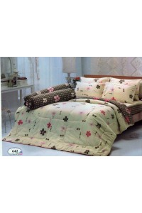 ชุดเครื่องนอน ผ้าห่มนวม ชุดผ้าปูที่นอนทิวลิป 642