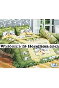 ชุดเครื่องนอน ผ้าห่มนวม ชุดผ้าปูที่นอนทิวลิป ลายการ์ตูน A68 (Cartoon Fancy Mix)
