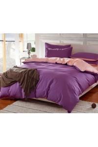 ชุดเครื่องนอน คอตตอน100 ผ้าปูที่นอน สีพื้น ทูโทน PA003
