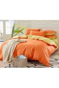 ชุดเครื่องนอน คอตตอน100 ผ้าปูที่นอน สีพื้น ทูโทน PA004