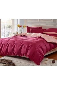ชุดเครื่องนอน คอตตอน100 ผ้าปูที่นอน สีพื้น ทูโทน PA005