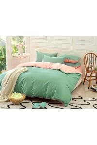 ชุดเครื่องนอน คอตตอน100 ผ้าปูที่นอน สีพื้น ทูโทน PA008