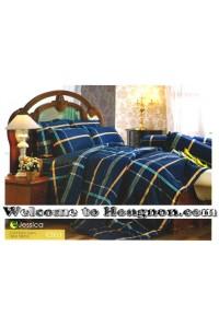 ชุดเครื่องนอน ผ้าห่มนวม ชุดผ้าปูที่นอนเจสสิก้า C953 (คอตตอน 100%)
