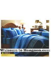 ชุดเครื่องนอน ผ้าห่มนวม ชุดผ้าปูที่นอนเจสสิก้า C954 (คอตตอน 100%)