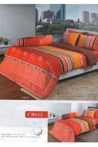 ชุดเครื่องนอน ผ้าห่มนวม ชุดผ้าปูที่นอนทิวลิปคอตตอนริช CR12