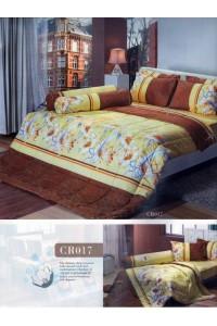 ชุดเครื่องนอน ผ้าห่มนวม ชุดผ้าปูที่นอนทิวลิปคอตตอนริช CR17