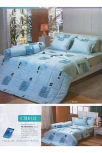 ชุดเครื่องนอน ผ้าห่มนวม ชุดผ้าปูที่นอนทิวลิปคอตตอนริช CR18