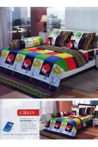 ชุดเครื่องนอน ผ้าห่มนวม ชุดผ้าปูที่นอนทิวลิปคอตตอนริช CR19