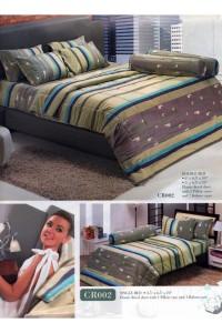 ชุดเครื่องนอน ผ้าห่มนวม ชุดผ้าปูที่นอนทิวลิปคอตตอนริช CR02