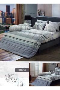 ชุดเครื่องนอน ผ้าห่มนวม ชุดผ้าปูที่นอนทิวลิปคอตตอนริช CR30