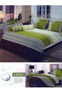 ชุดเครื่องนอน ผ้าห่มนวม ชุดผ้าปูที่นอนทิวลิปคอตตอนริช CR32