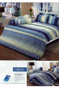 ชุดเครื่องนอน ผ้าห่มนวม ชุดผ้าปูที่นอนทิวลิปคอตตอนริช CR33