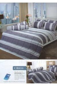 ชุดเครื่องนอน ผ้าห่มนวม ชุดผ้าปูที่นอนทิวลิปคอตตอนริช CR34
