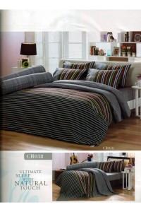 ชุดเครื่องนอน ผ้าห่มนวม ชุดผ้าปูที่นอนทิวลิปคอตตอนริช CR38