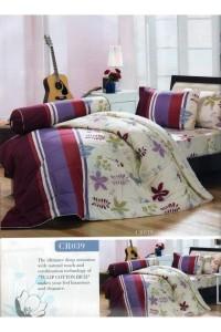 ชุดเครื่องนอน ผ้าห่มนวม ชุดผ้าปูที่นอนทิวลิปคอตตอนริช CR39