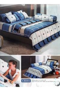ชุดเครื่องนอน ผ้าห่มนวม ชุดผ้าปูที่นอนทิวลิปคอตตอนริช CR04
