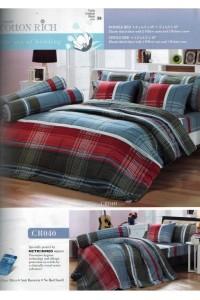 ชุดเครื่องนอน ผ้าห่มนวม ชุดผ้าปูที่นอนทิวลิปคอตตอนริช CR40