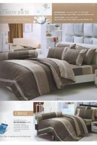 ชุดเครื่องนอน ผ้าห่มนวม ชุดผ้าปูที่นอนทิวลิปคอตตอนริช CR42