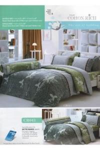 ชุดเครื่องนอน ผ้าห่มนวม ชุดผ้าปูที่นอนทิวลิปคอตตอนริช CR43