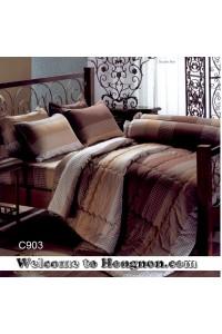 ชุดเครื่องนอน ผ้าห่มนวม ชุดผ้าปูที่นอนเจสสิก้า C903 (คอตตอน 100%)