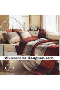 ชุดเครื่องนอน ผ้าห่มนวม ชุดผ้าปูที่นอนเจสสิก้า C913 (คอตตอน 100%) (สินค้าหมดค่ะ)