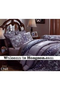 ชุดเครื่องนอน ผ้าห่มนวม ชุดผ้าปูที่นอนเจสสิก้า C940 (คอตตอน 100%)