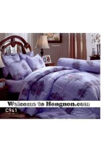 ชุดเครื่องนอน ผ้าห่มนวม ชุดผ้าปูที่นอนเจสสิก้า C941 (คอตตอน 100%)