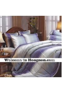 ชุดเครื่องนอน ผ้าห่มนวม ชุดผ้าปูที่นอนเจสสิก้า C944 (คอตตอน 100%)